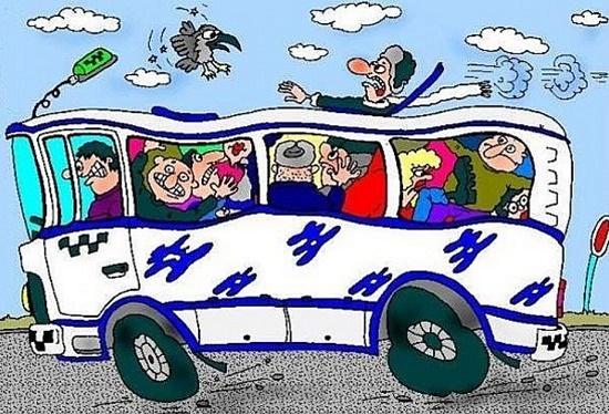Анекдоты про автобус
