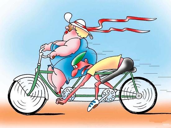 Анекдоты про велосипед