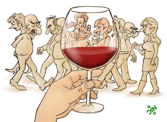 анекдот про вино