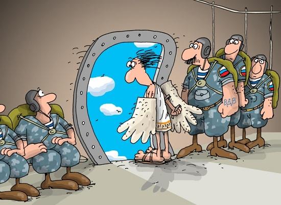 анекдот про десантников