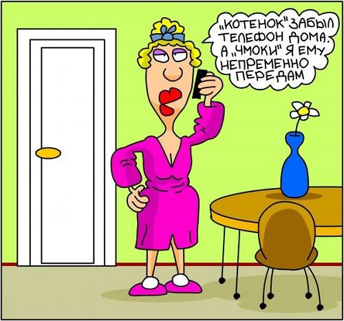 анекдот про жену