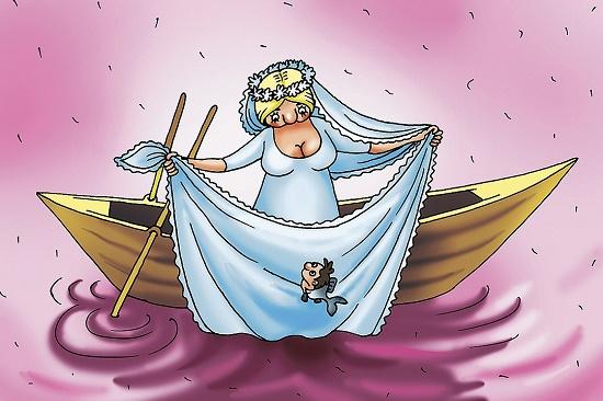 Анекдоты про невесту