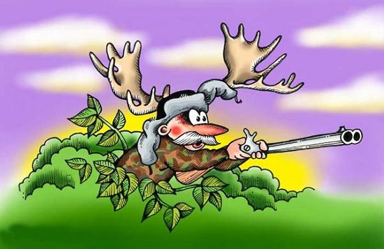 анекдот про охотников