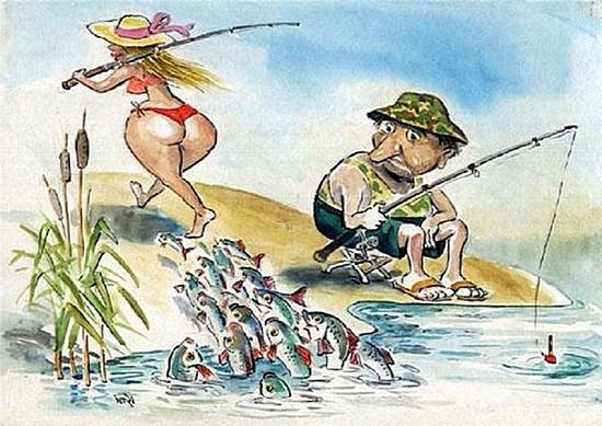 анекдот про рыбаков