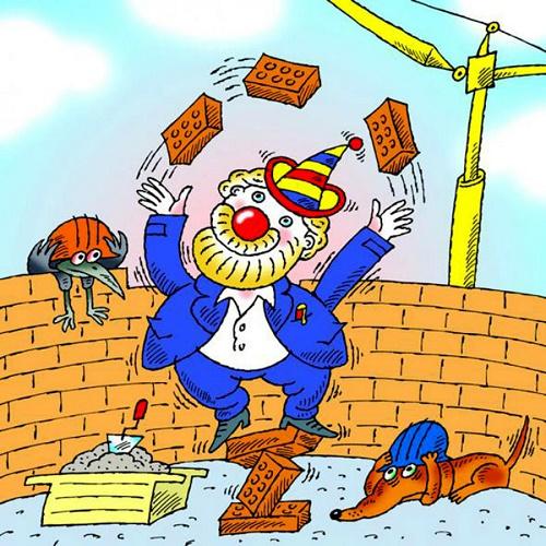 анекдот про строителей