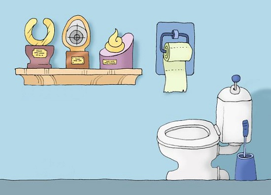 Анекдоты про туалет