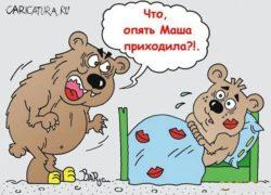Сказка Маша и медведи на новый лад