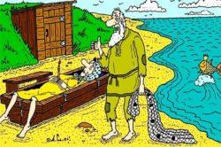 Смешная сказка о рыбаке и рыбке