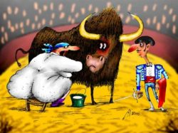 Сказка про доярку Дуню, пьяного бригадира и бычка Федота