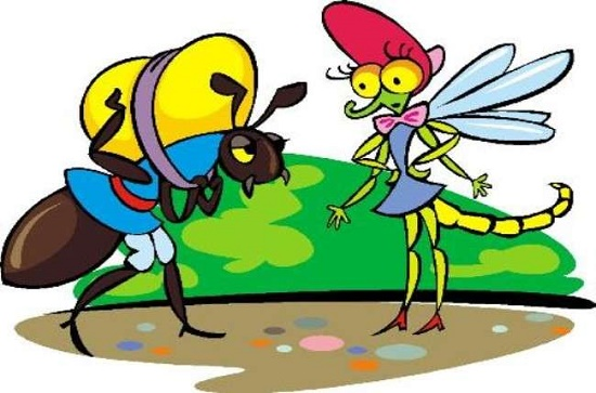 сказка стрекоза и муравей
