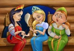 Три девицы под окном – сказка на новый лад