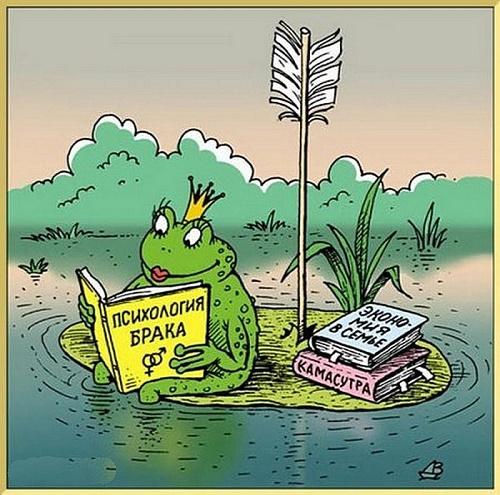 Прикольная сказка о Царевне – лягушке