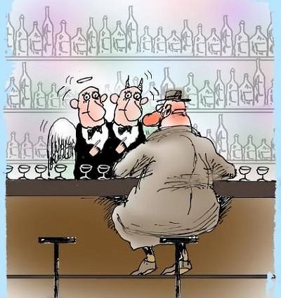 анекдот про бармена