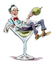 Анекдоты про мартини