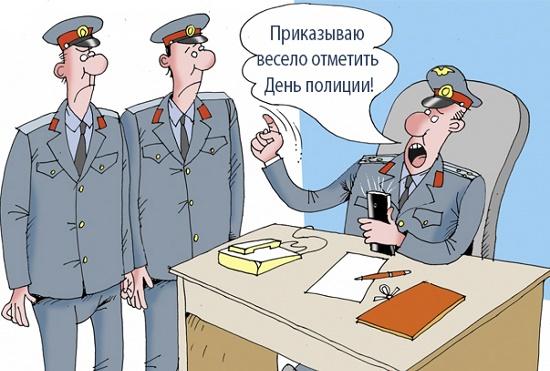 анекдот про милицию и полицию