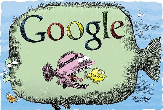 анекдот про google