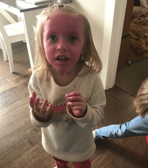 смешное фото с ребенком