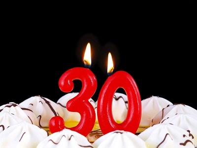 Тосты на юбилей 30 лет