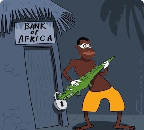 анекдот про африку