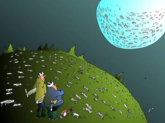 свеженькая карикатура