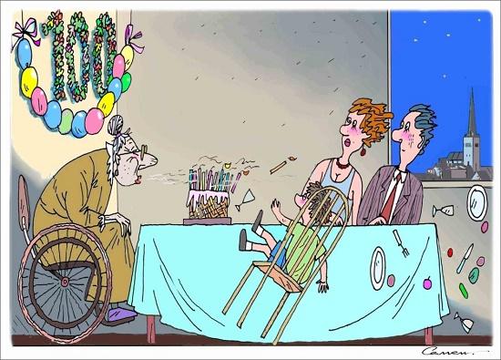 свежая карикатура