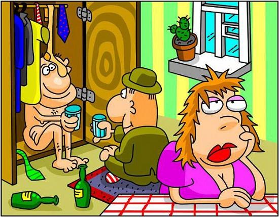 Карикатуры смешные до слез
