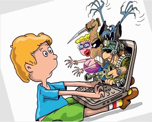 не ходите дети в интернет гулять
