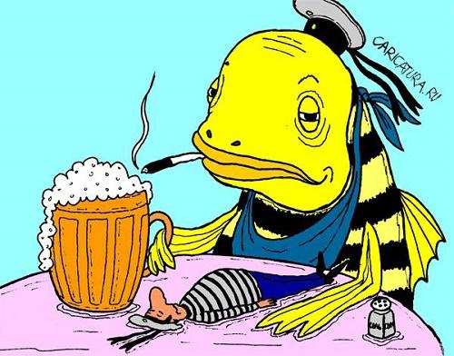 рыбные анекдоты