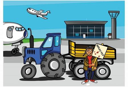 Анекдоты про аэропорт в картинках