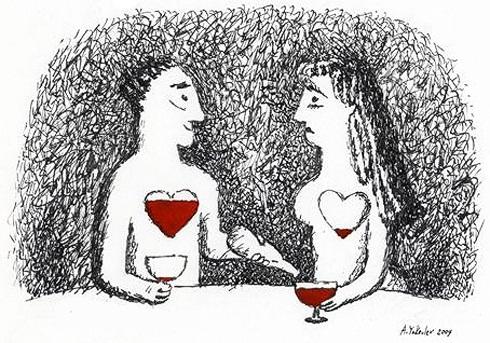Анекдоты про вино в картинках