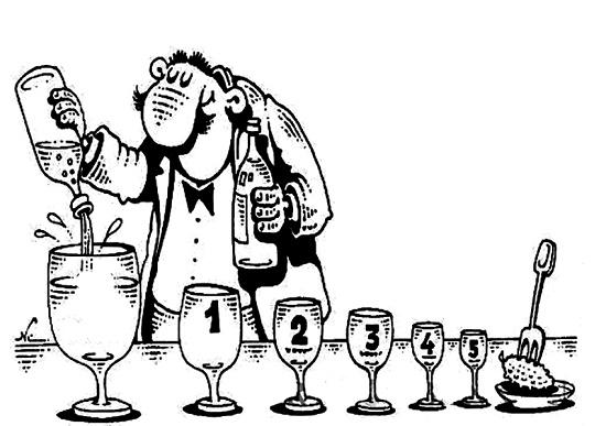 карикатура про водку