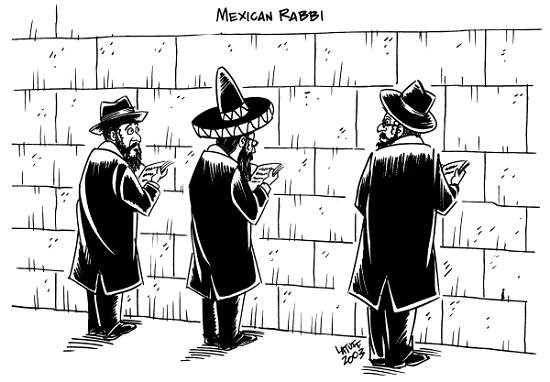 карикатура про евреев