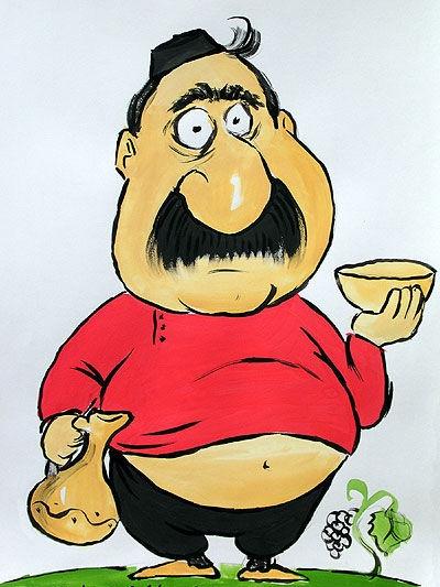 карикатура про гоги