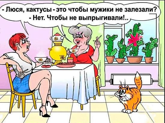 карикатура про люсю