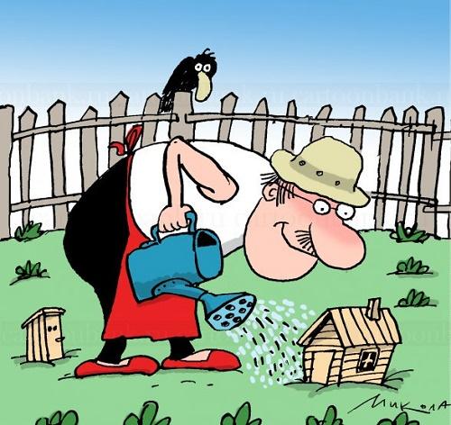 карикатура из россии