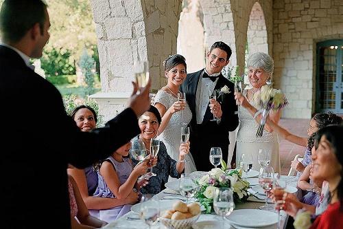 красивые тосты на свадьбу про молодых