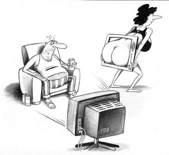 непристойная карикатура