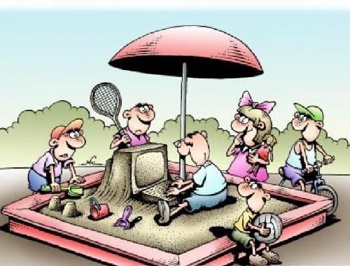 прикольная карикатура обо всем