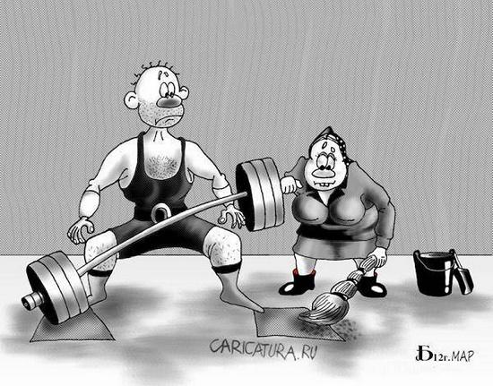смешная карикатура на разную тему
