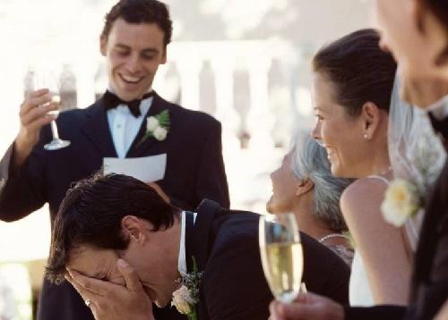 Тосты на свадьбу от молодых