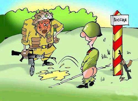 Смешной анекдоты в картинке про армию