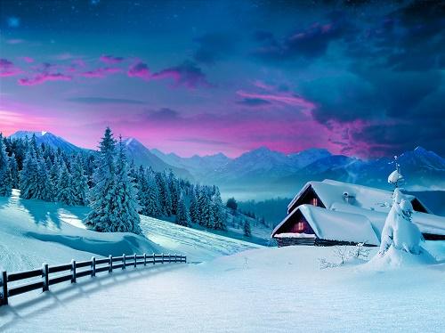 Веселые статусы про зиму