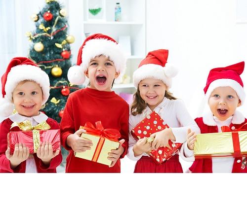 новогодние детские кричалки