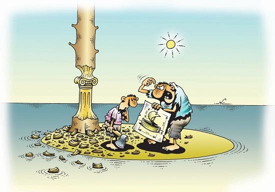 свежая подборка прикольных карикатур