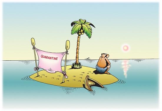 карикатура про коронавирус