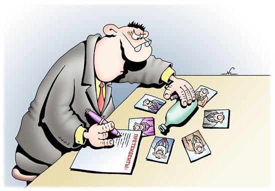 Смешные карикатуры обо всем на свете