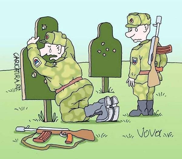 анекдоты про рядовых солдат