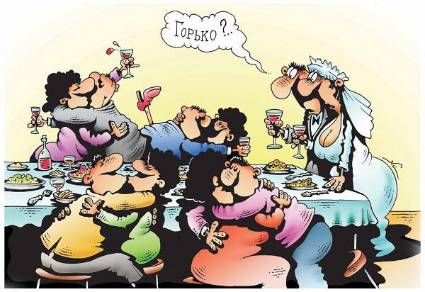 анекдоты про свадьбу