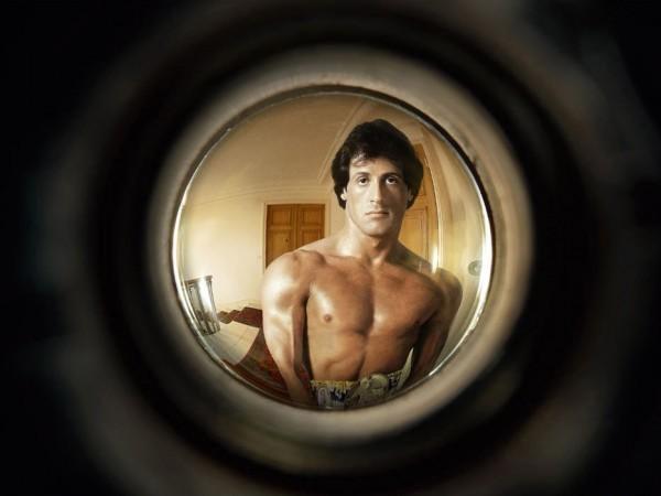 фото кумира на глазке двери