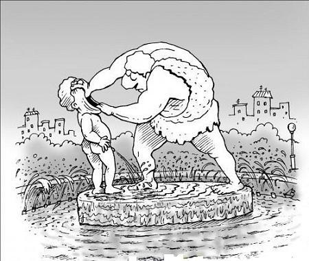 карикатура про мальчика